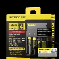 New Version NITECORE i4 V2 Intelli charger For AA 18650 18500 14500 18350 18700