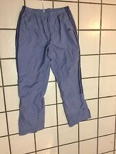 Adidas 3 Stripe purple pants unisex L Athletic Warm Up Sweat Pants Track Running