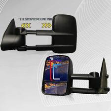 Fit 1999 2000 2001 2002 Chevrolet Chevy Silverado 1500 2500 3500 Tow Mirror Pair