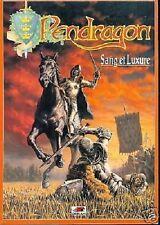 JDR RPG JEU DE ROLE / PENDRAGON DEUXIEME EDITION SANG ET LUXURE