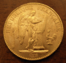 France 1898 A Gold 20 Francs UNC Lucky Angel