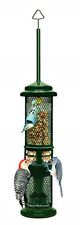 Squirrel Buster Nut Feeder Squirrel-Proof Bird Feeder for Nuts and Fruit, Two