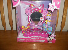 MINNIE MOUSE HEADBAND BOW MAKER VANITY  DISNEY STORE (NEW) 43 PIECES