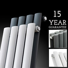 Radiator Tall Upright Towel Warmer Vertical Design Oval Column Central Heating-b