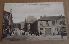 Postcard Scotland Dundee Constitution Road unposted sepia tone