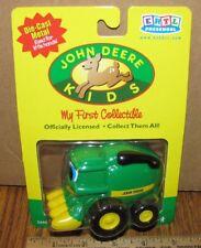 John Deere Kids COREY COMBINE Ertl Toy 36580 DIE CAST 2001 My First Collectible