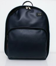Jack Spade Mason Dark Navy Pebble Leather Book pack New with Tag MSRP $398