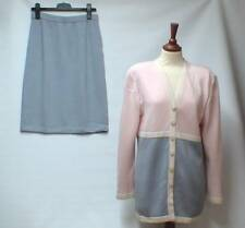 St John collection by Marie Gray Knit Multi COL TAILLEUR VESTE 8/14 US