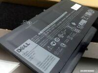 Original DELL Akku 579TY, F1KTM, V6VMN Battery für Latitude E7270, E7470 NEU OVP