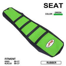 Fits KAWASAKI KX65 KX 65 RM 2000-18 Attack Graphics Gripper Seat Cover Black