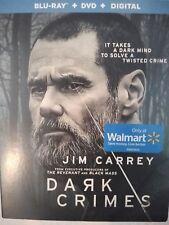 NEW!!! Jim Carrey, Dark Crimes (Blu-ray/DVD/Digital HD Set, 2018) W/Slipcover