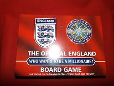 THE OFFICIAL ENGLAND WHO WANTS TO BE A MILLIONAIRE? BOARD GAME 2006 CELADOR NEW