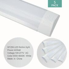 5 Pack 4Ft Feet Led Garage Light Bulb Ceiling Fixture Lights Shop Workshop Lamp