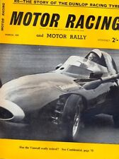 Motor Racing - BRSCC journal - magazine - March 1959