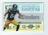 2017 Optic Contenders Antonio Brown Silver Holo Prizm Card, Steelers, #/99!