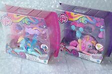 2 Figurines Glissade Zoom'n Go NEUF My Little Pony ♦ Rainbow Dash & Pinkie Pie