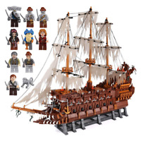 Olandese Volante-Pirati Dei Caraibi-Compatibile Lego-3642 pz-The Flying Dutchman