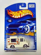 HOT WHEELS ICE CREAM TRUCK #136 Die-Cast Car MOC COMPLETE 2000