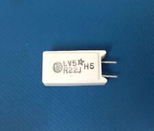 **NEW** 25x HTR Ceramic Wirewound Resistor 5W R22 OHM 5%, LV5R22J LEAD FREE
