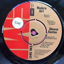 SHEENA EASTON - MODERNE GIRL / Paradox - EMI 5042 VG+ état A1/B1