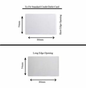 Credit Debit Card Driving Licence Gym Membership Loyalty Card ID Wallet Holder
