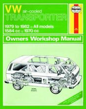 TYPE 25 Haynes Manual, T25 Bus 79-82, Aircooled 1.6 & 2.0