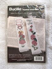 BUCILLA COUNTED CROSS STITCH MOTHER'S DAY BOOKMARKS