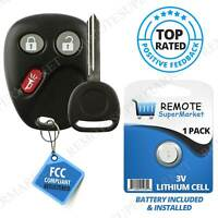 Replacement for 2003 2004 2005 2006 Chevy Avalanche Tahoe Remote Car Key Fob Set