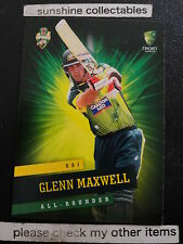 2015/16 TAP N PLAY CRICKET BASE CARD NO.25 GLENN MAXWELL ODI