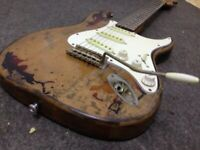New Style High Quality Handmade Relic Electric Guitar Alder Body Fast Shipping