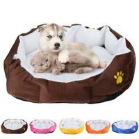 Anti-slip Cashmere Soft Ped Dog Mat Nest Cat Pet Cushions Bed Autumn Winter Warm