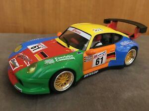 Porsche 911 GT2 REVOSLOT RS0018 Umbau mit Carrera Digital 132 Decoder + Licht