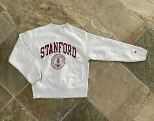 Vintage Stanford Cardinal Champion Reverse Weave College Sweatshirt, Size Small