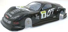 Honda Concept NSX GT Pre-Painted RC Body 1/10 Scale Black K&N HPI Kyohso Carbon