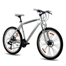 "26"" pulgadas MTB mountainbike bicicleta chrisson terier con 21g Suntour blanco TOP"