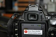 Repair Service - Nikon Digital SLR D40 D40x D60 D3000  - FREE QUOTE