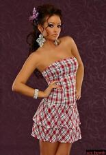 SEXY abito vestito pin up corpino gonna balze taglia 42 44 fashion GLAMOUR e834a9b2a85