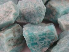 Tumbling Rock Rough - AMAZONITE - 3 LB Lot - Perfect size for Tumbler Polisher