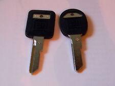 GM E&H Plastic Head Original Key Blanks - Vintage