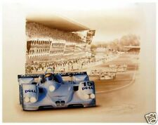 BMW V12 LMR Le Mans Limited Ed Print by Francois Bruere