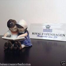Royal Copenhagen Autocollants - Enfants Que Lire Mini - Petite Statue