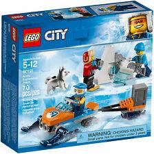 LEGO City 60191 - Arctic Exploration Team 70 Pieces 3 Minifigures & Dog