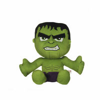 "OFFICIAL MARVEL COMICS HULK LARGE 12"" PLUSH SOFT TOY TEDDY NEW STYLE WITH TAGS"