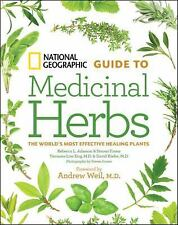 NATIONAL GEOGRAPHIC GUIDE TO MEDICINAL HERBS - NEW HARDCOVER BOOK