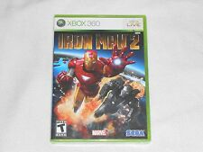 NEW Iron Man 2 XBox 360 Game SEALED ironman ii Sega Marvel Tony Stark US NTSC