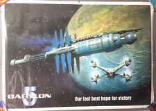 "Vintage Babylon 5 Last Best Hope Poster from Uk 24""x36"" Rolled (Fpo-350)"