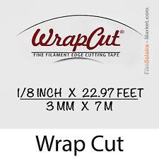 """WrapCut"" 7m,-faden coupe vinylfolie,klebstoff,abdeckung,wrap,Glühfaden Band"