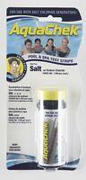 Aquachek Salt Test Kit Strips For Pool and Spa 10 Strips Per Bottle
