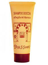 Shampoo doccia al Ghassoul -Argilla saponifera -Capelli e Corpo 200ml-TEA Natura