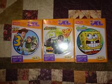 FISHER PRICE IXL LEARNING GAME NEW (LOT OF 3)